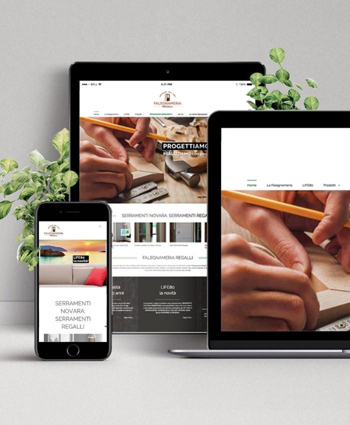 realizzazione sito web responsive novara borgomanero