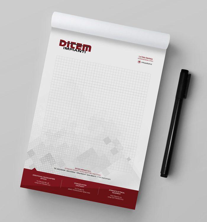 block notes personalizzati grafica stampa borgomanero novara cressa arona